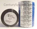 CFB102360DA-S - Century Falcon Black - Wax Thermal Ribbon - 4.02 in X 1181 ft, Coated Side In - Sold per Roll